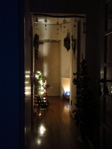 クリスマスインテリア*廊下1.jpg