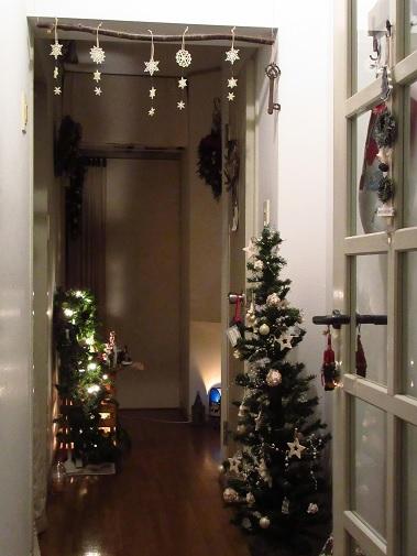 クリスマスインテリア*廊下2.jpg