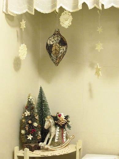 クリスマス*トイレディスプレイ1.jpg